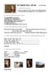 English Worksheets: Song and movie