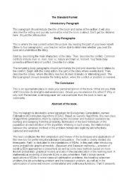 English Worksheets: Books parts