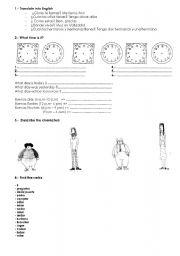 English Worksheets: Mixed Revision