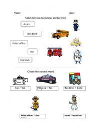 English Worksheets: jobes