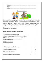 Reading Comprehension - worksheet by roma_ama