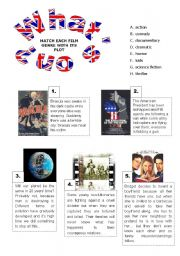 English Worksheets: What�s on?