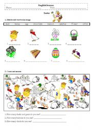 English Worksheets: easter