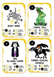 Halloween Go Fish Card Game