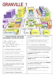 English Worksheet: GRANVILLE CITY
