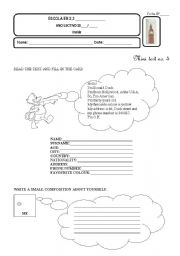 English Worksheets: Donald Duck file