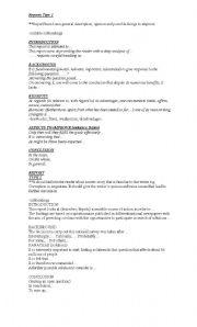 English Worksheets: WRITINGS