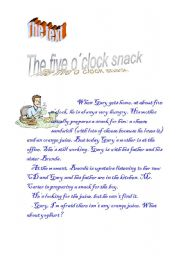 English Worksheets: The text