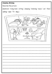 creative writing esl worksheet by roma ama. Black Bedroom Furniture Sets. Home Design Ideas