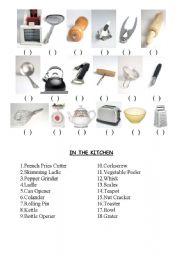 english worksheets kitchen utensils. Black Bedroom Furniture Sets. Home Design Ideas