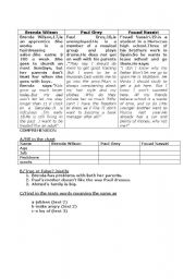 English Worksheets: reading withcomprehension questions