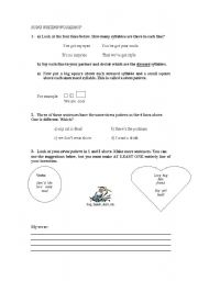 English Worksheets: Song Writing Workshop