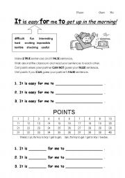 English Worksheets: It�s easy for them to play.