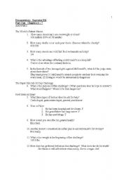 Supersize Me Documentary Worksheet Answers Esl Worksheet By Csuchy