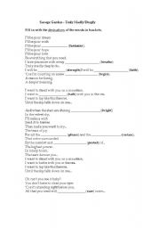 English Worksheets: Truly Madly Deeply