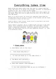 worksheet: patience and tolerance