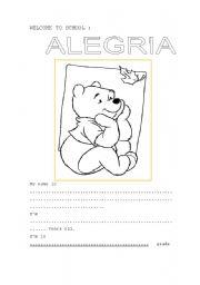English Worksheets: caratula