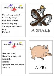 chinese zodiac animal riddles PART 1