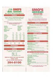 English Worksheet: Pizza Restaurant Menu