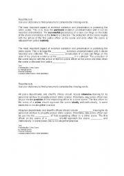 English Worksheets: Synonims exercise