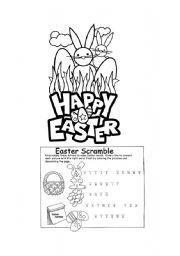 English Worksheet: Easter