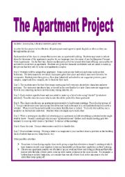 English Worksheet: The Apartment Project: Full Lesson Plan and Worksheets