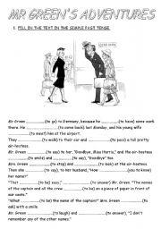 simple past tense short story pdf
