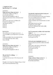 English Worksheets: Big girls don�t cry - Fergie