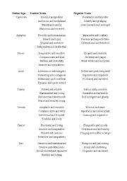 English Worksheets: horospoco