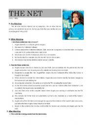 The Net - film worksheet