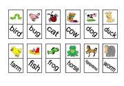 English Worksheets: Animals; Dimnoe