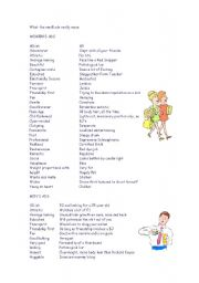 English Worksheets: ads language