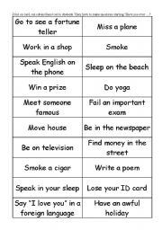 English Worksheets: Have you ever..?