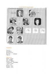 English Worksheet: royal family tree