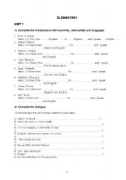 English Worksheets: mix worksheets