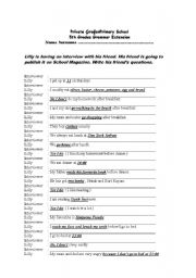English Worksheet: -wh questions