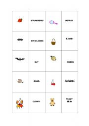 English Worksheets: Making pairs