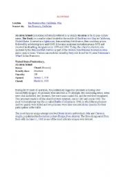 English Worksheets: ALCATRAZ 1