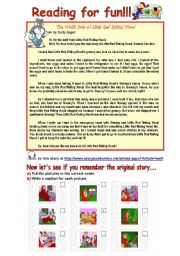 English Worksheets: Reading for fun!