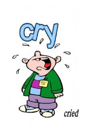 English Worksheets: CRY