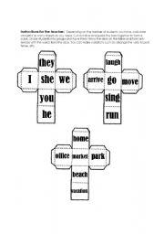 English Worksheets: Sentence formation activity