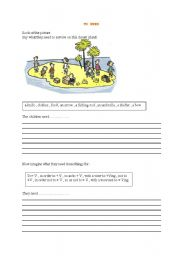English Worksheets: TO NEED AND HOW TO EXPRESS AIM