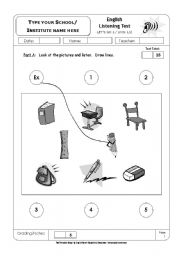 English Worksheets: learning english