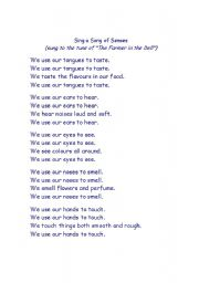 Discount advertise here reading worksheets poems poem the 5 senses