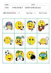 English Worksheets: SPEAKING CARDS - game