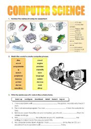 Printables Computer Science Worksheets worksheets computer science laurenpsyk free english teaching computers science