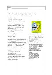 English Worksheet: Song by Jamiroquai: reviewing modals