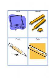 English Worksheets Tools Vocabulary