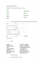 English Worksheet: My Way - Frank Sinatra