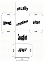 English Worksheets: Daily Routine - Dice Game - Part 2